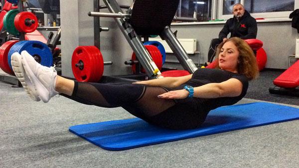 Пресс тренировка программа убрать живот и бока фитнес дома
