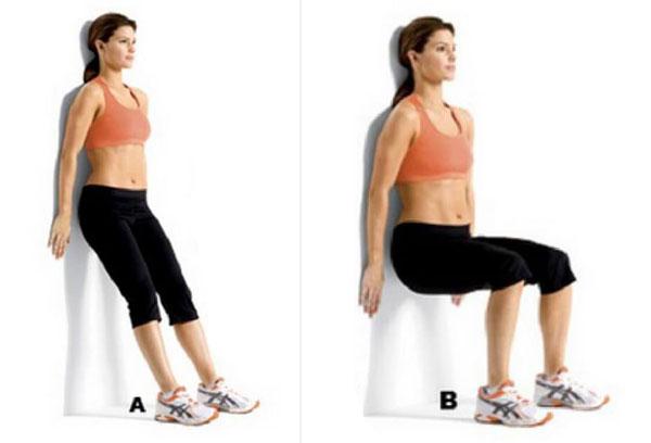 Как делать стульчик у стены