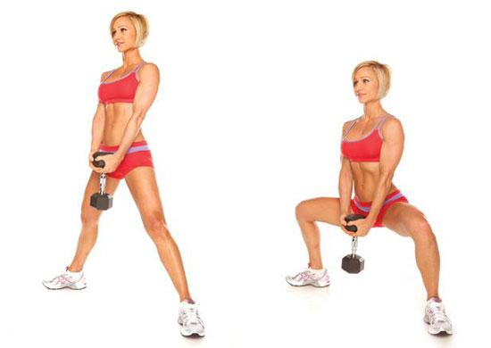Упражнения для внутреннего бедра