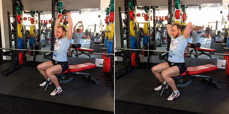 Упражнения для похудения ног и бедер в зале