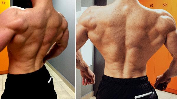 Комплекс упражнений с гантелями для тренировки спины мужчинам