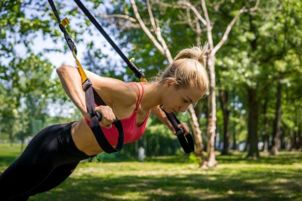 TRX тренировка и преимущества